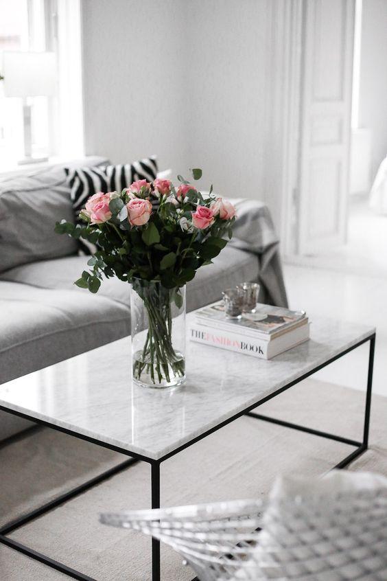 mesa marmol deco