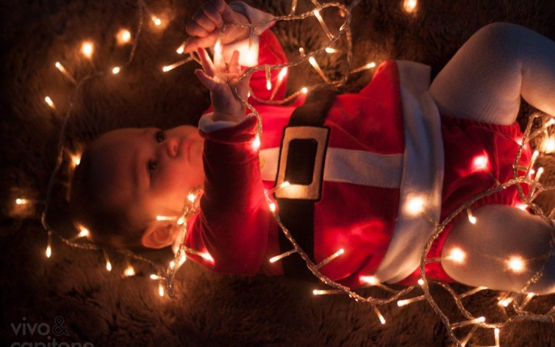 La primera postal de navidad de Buena Hija