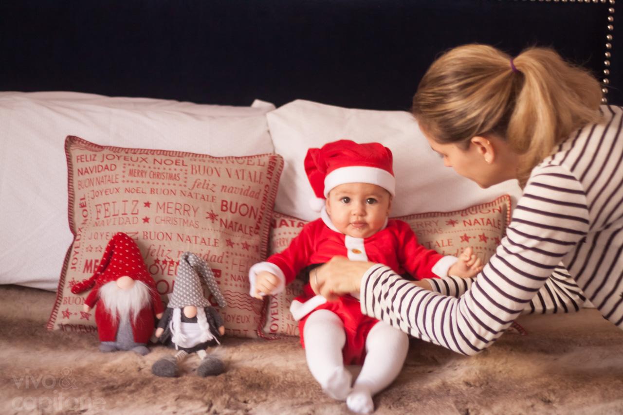 Postales de navidad bebes