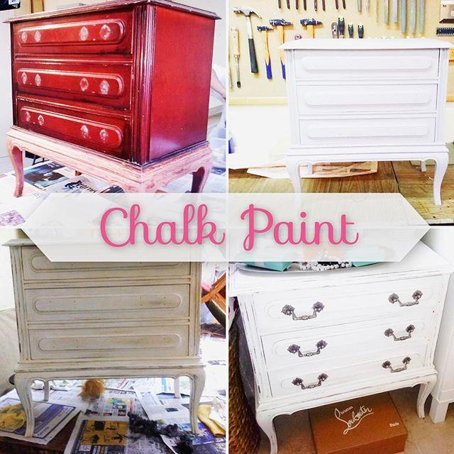 Restauración con pintura Chalk Paint