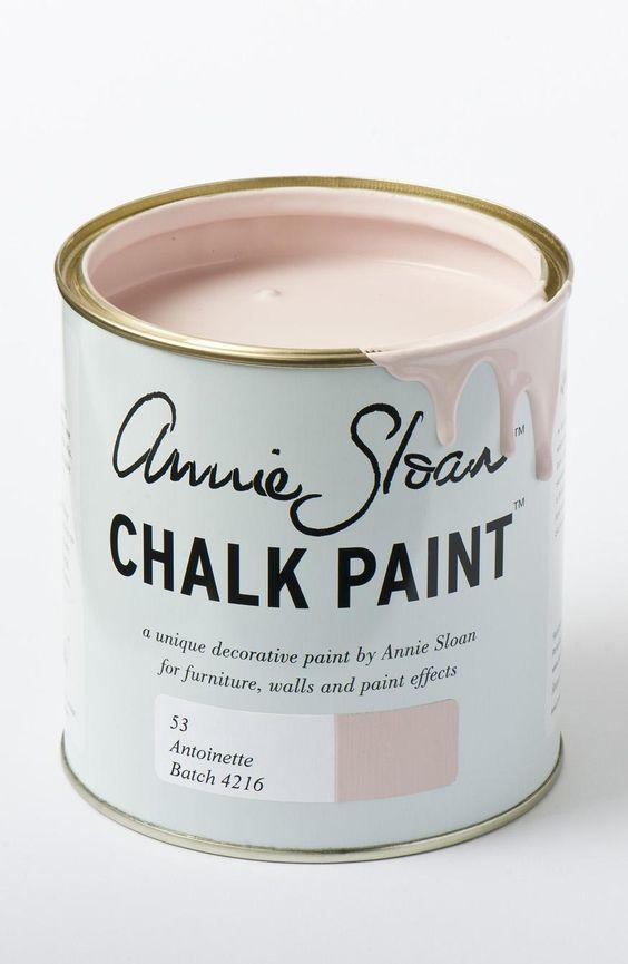 Chalk paint Annie Sloan Antoinette rosa