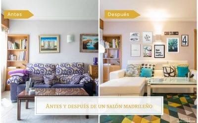 Antes y después de un salón madrileño