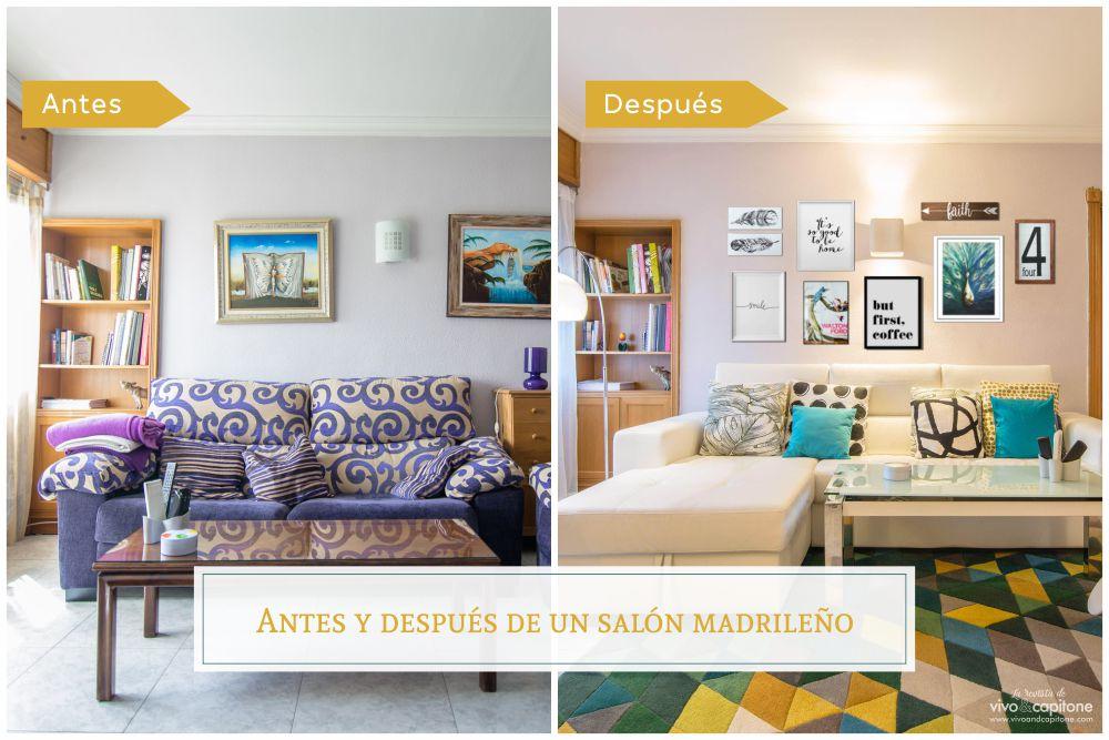 Antes y después de un proyecto