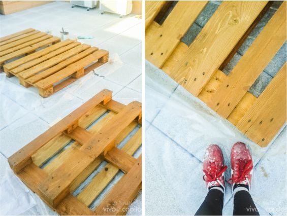 antes y despues pallets