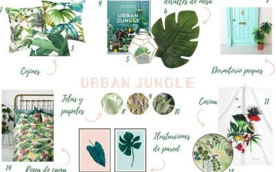 Shopping list: Urban Jungle