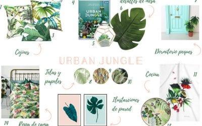 Shopping list: Urban Jungle