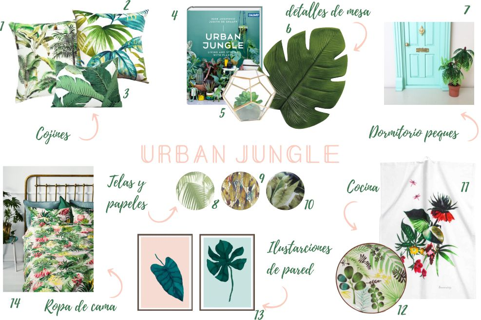shopping list urban jungle