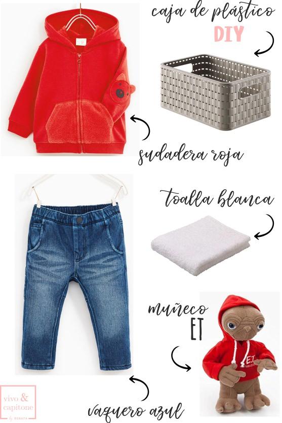 Shopping list Disfraz Halloween