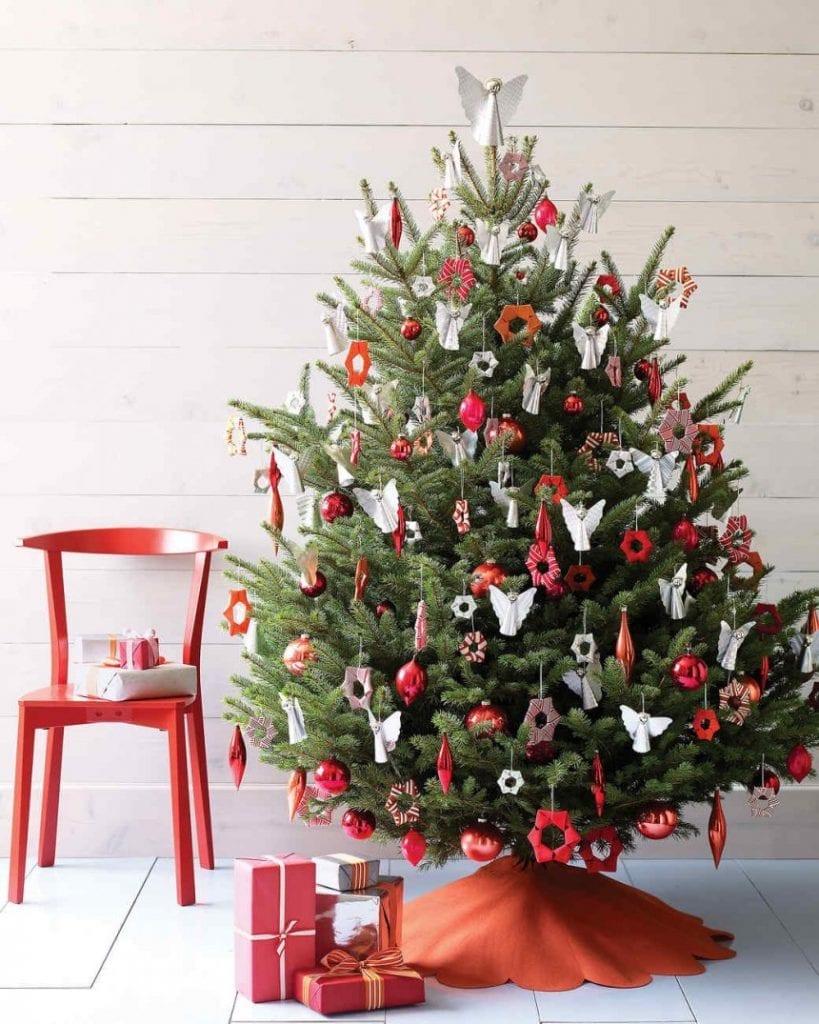 Ideas para decorar un árbol de Navidad