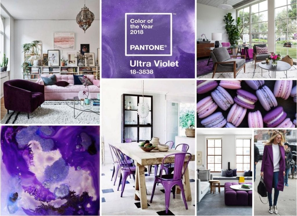 Color morado Ultra Violet