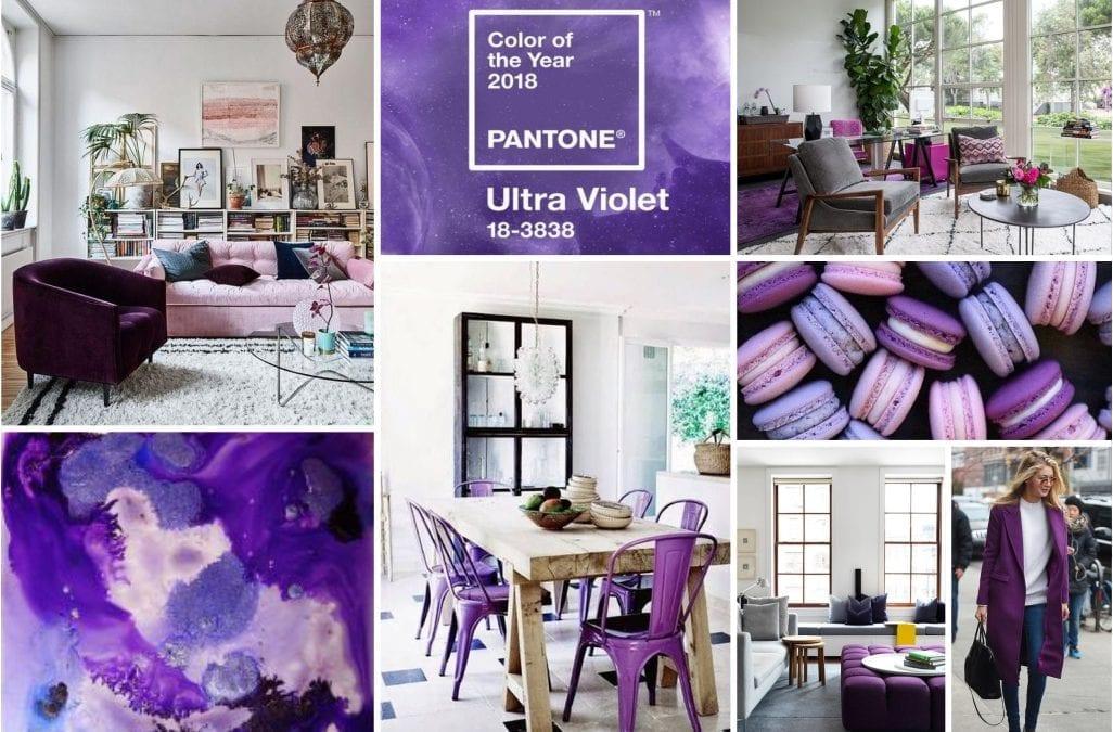 Decoramos con… Ultra Violet