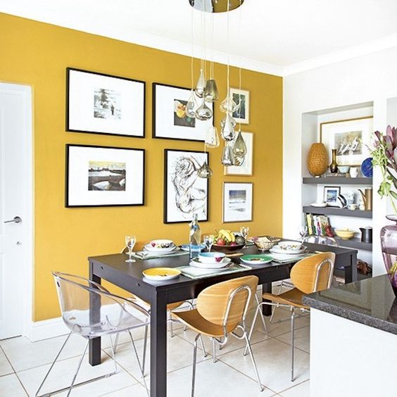 Decoramos con... Amarillo mostaza