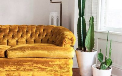 Decoramos con… Amarillo mostaza