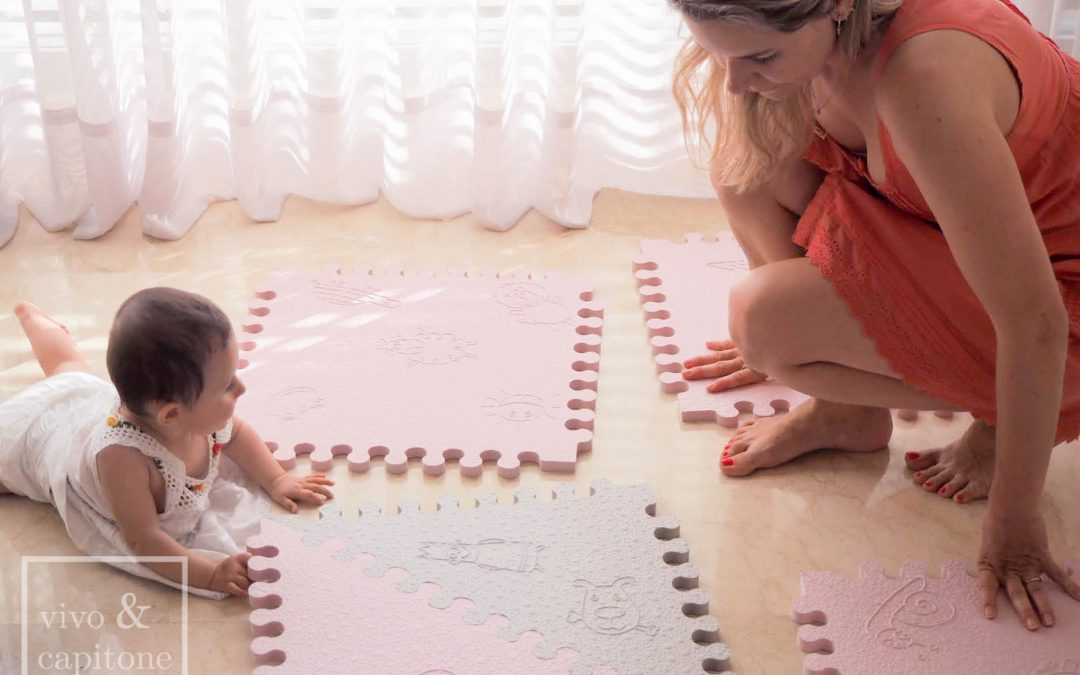 Padded Play Mat from Lü Babymats